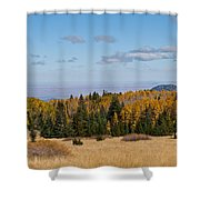 Fall Colors In The Inner Basin Shower Curtain