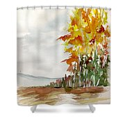 Fall Colour No. 1 Shower Curtain