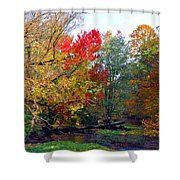 Fall Creek Shower Curtain