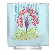 Fall. Day. 23 September, 2015, Nizhny Novgorod Shower Curtain