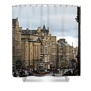 Fall Day In Edinburgh Shower Curtain