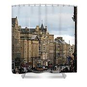 Fall Day In Edinburgh Shower Curtain