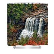 Fall Falls 2 Shower Curtain