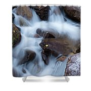 Fall Falls In Vail Shower Curtain