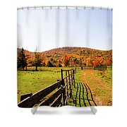 Fall Farm #4 Shower Curtain