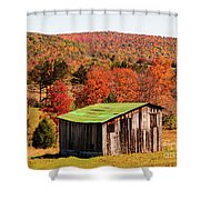 Fall Farm No. 6 Shower Curtain