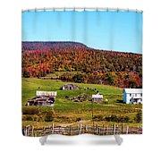 Fall Farm No. 7 Shower Curtain