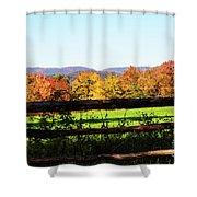 Fall Farm No. 8 Shower Curtain