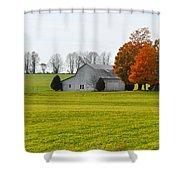 Fall Field Shower Curtain