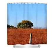 Fall Field Shower Curtain
