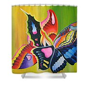 Fall Flight Shower Curtain