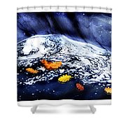 Fall Flotilla Shower Curtain