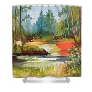 Fall Foliage In Vermont Shower Curtain