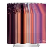 Fall From Earth Album Art Shower Curtain