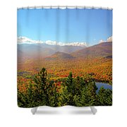 Fall From Mount Jo Shower Curtain