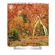 Fall Impression Shower Curtain