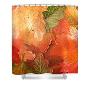 Fall Impressions V Shower Curtain