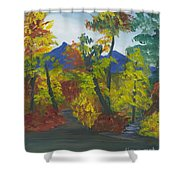 Fall In All Its Glory Shower Curtain