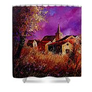 Fall In Ardennes  Shower Curtain
