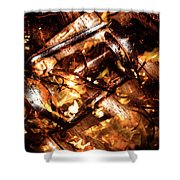 Fall In Fire Shower Curtain