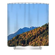 Fall In Gstaad Shower Curtain
