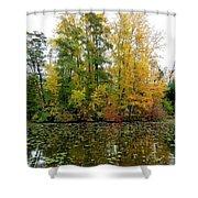 Fall In Kaloya Park 10 Shower Curtain