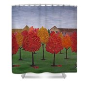 Fall In Markham Shower Curtain
