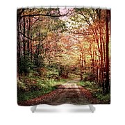 Fall In Monongalia County Shower Curtain