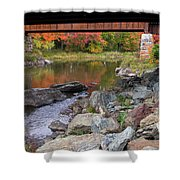 Fall In New Enlgand  Shower Curtain