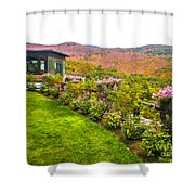 Fall In New Hampshire Shower Curtain
