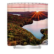 Fall In Northern Vermont Shower Curtain