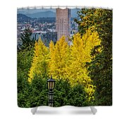 Fall In Portland Or 2 Shower Curtain