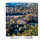 Fall In Shenandoah Valley Shower Curtain