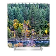 Fall In Spokane Shower Curtain