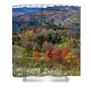 Fall In Tennessee Shower Curtain