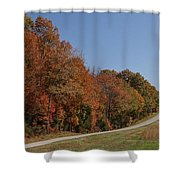 Fall In The Country Shower Curtain
