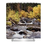 Fall In The Grand Tetons Shower Curtain