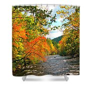 Fall In The Smokey Mountains  Shower Curtain