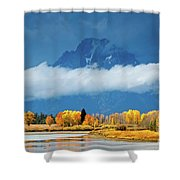 Fall At The Oxbow Shower Curtain