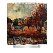 Fall In Vivy Shower Curtain