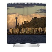 Fall In West Seattle Shower Curtain