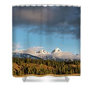 Fall In Wyoming Shower Curtain