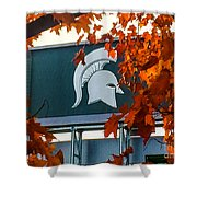 Fall Is Football Shower Curtain