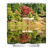 Fall Tree -loganville Georgia Shower Curtain