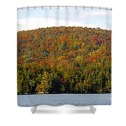 Fall Island Shower Curtain