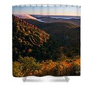 Fall. Shower Curtain by Itai Minovitz