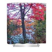 Fall Lagoon Shower Curtain