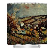 Fall Landscape 670110 Shower Curtain