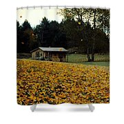Fall Leaves - No. 2015 Shower Curtain