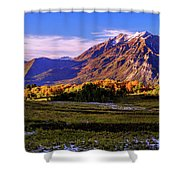 Fall Meadow Shower Curtain by Chad Dutson